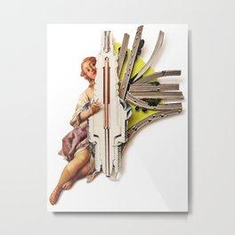 Sparklette | Collage Metal Print