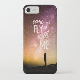 come fly with me iPhone Case