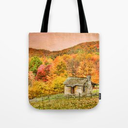 An Autumn View Tote Bag