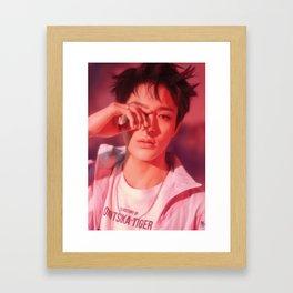 jeno nct dream Framed Art Print