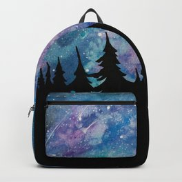 Galaxies and Trees Backpack