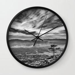 The last big pine tree Wall Clock