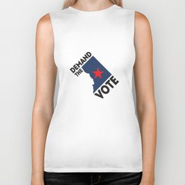 DC Demand the Vote Biker Tank