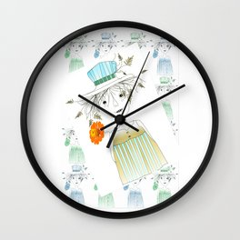 Betty Lou Wall Clock