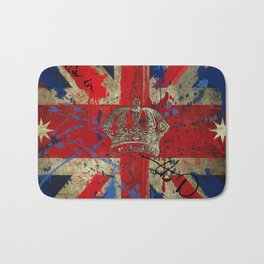 Union Jack & Eureka Flag Bath Mat
