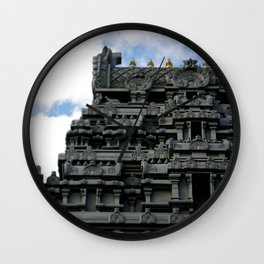 NYC Temple on Bowne St Wall Clock