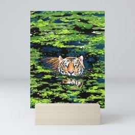 Tiger Pond Mini Art Print