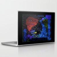 aquarius Laptop & iPad Skins featuring Aquarius by Laura Jean