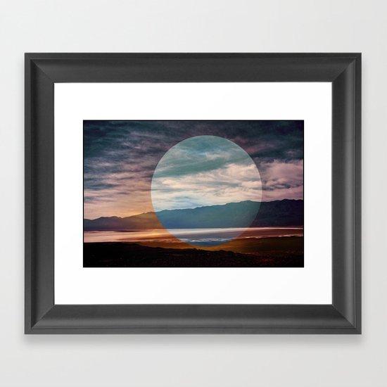 Sunset I Framed Art Print