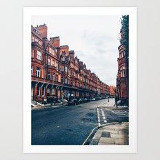 London Road Art Print