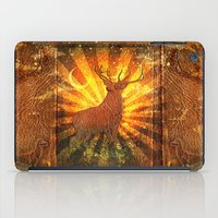 stag iPad Cases featuring Stag  by Beery Method
