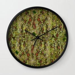 Japanese Cherry tree natura pattern Wall Clock