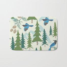 Sierra Forest Bath Mat