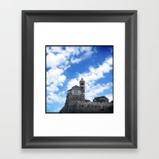 Rock Castle Framed Art Print