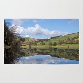 Ladybower reservoir Rug