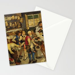 """Pieter Brueghel II (The Younger) """"The payment of the tithes"""" Stationery Cards"""