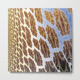 Fractal Abstract 83 Metal Print