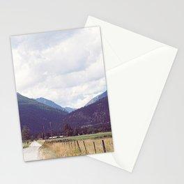 Montana Back Roads Stationery Cards