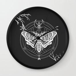 Witch Craft White Wall Clock