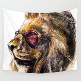 LionO Wall Tapestry