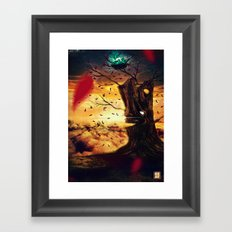 The Last Autumn Framed Art Print