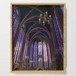 Sainte-Chapelle: Blue Serving Tray