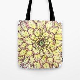 Yellow Flower Love Tote Bag