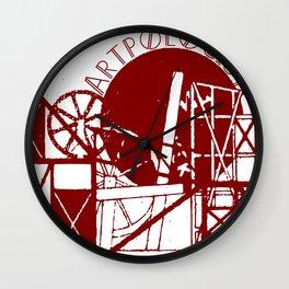 Artpologist Constructivist Logo Wall Clock