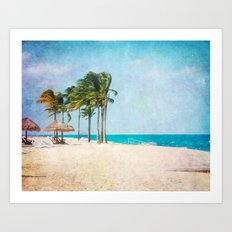 Tropical Breeze Art Print