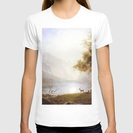Albert Bierstadt - Valley in Kings Canyon T-shirt