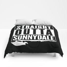Straight Outta Sunnydale Comforters