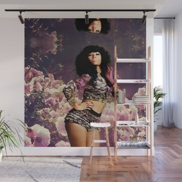 FLOWER BACKGROUND Wall Mural