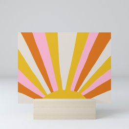 sunshine state of mind Mini Art Print