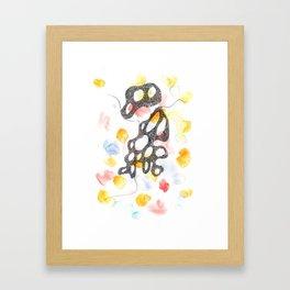 Scandi Micron Art Design   170808 Micron Watercolour 12 Framed Art Print