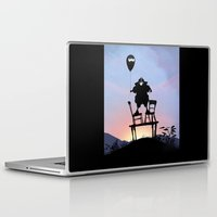 bane Laptop & iPad Skins featuring Bane Kid by Andy Fairhurst Art