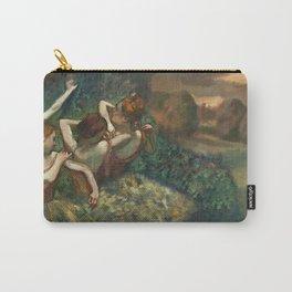 Edgar Degas - Four Dancers, 1889 Carry-All Pouch