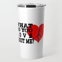 Butt I Love you Hook For you Toy Plug Yoga Pants Cheeks Buttman Travel Mug
