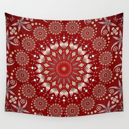 Ancestors (Red) Wall Tapestry