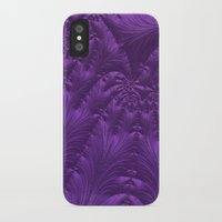 renaissance iPhone & iPod Cases featuring Renaissance Purple by Charma Rose