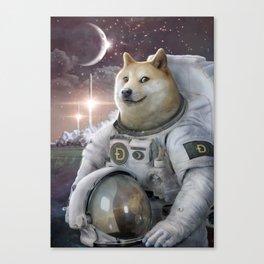 Very Astronaut Canvas Print