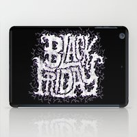 friday iPad Cases featuring Black Friday by Chris Piascik