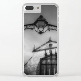 Greyfriars Kirk Cemetery Edinburgh Clear iPhone Case