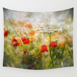 Sun Soaked Meadow Wall Tapestry