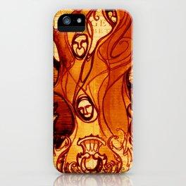 Macbeth Witches - Shakespeare Folio Illustration Art iPhone Case