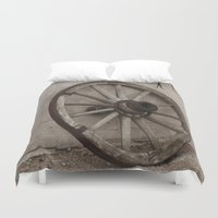 western Duvet Covers featuring Western Life by 100 Watt Photography
