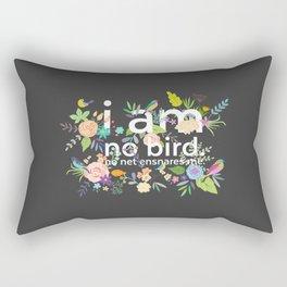Jane Eyre - I Am No Bird Rectangular Pillow