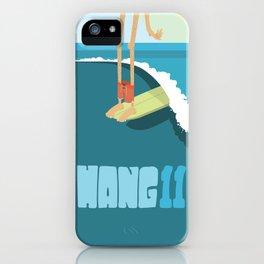 Hang 11 iPhone Case