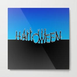 Halloween Night Metal Print
