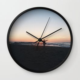 Sunrise at Culburra #2 Wall Clock