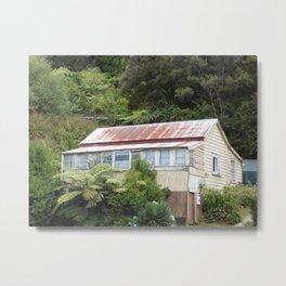 Vintage House Metal Print